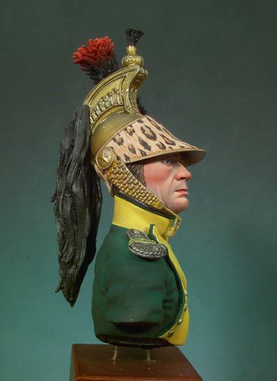 Jefe de Escuadron, Dragones 1810-12 (Vista 3)