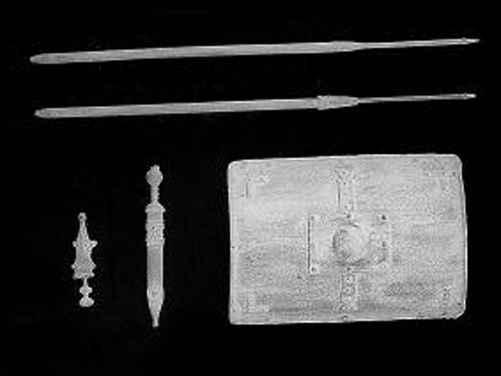 Armas infantería romana (Vista 1)