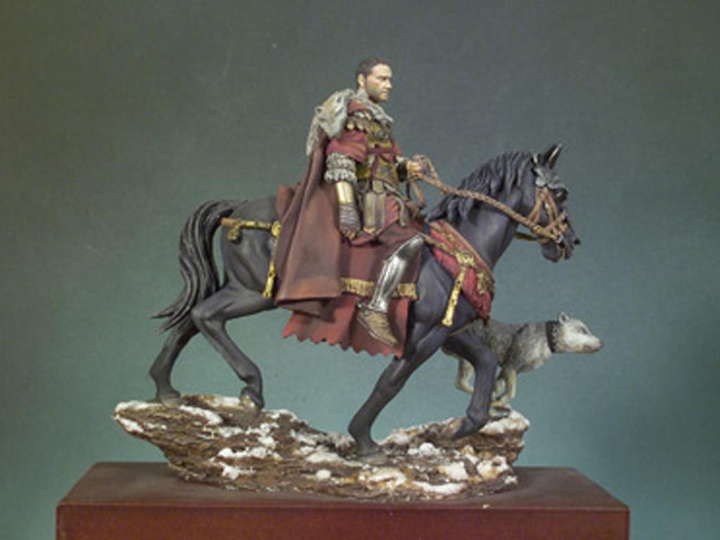 General Romano a caballo 180 d.C. (Vista 2)