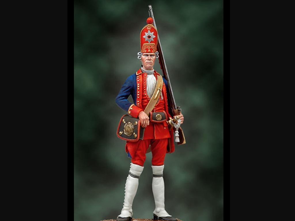 Granadero, 1ST Red Life Batallion 1720 (Vista 1)