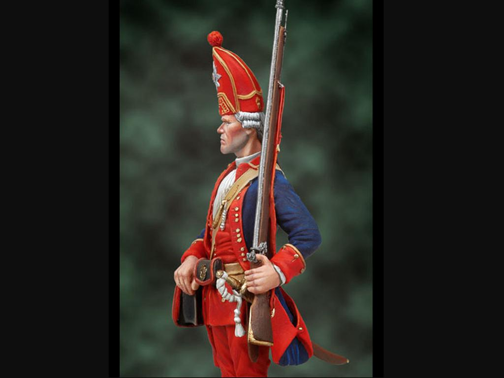 Granadero, 1ST Red Life Batallion 1720 (Vista 4)