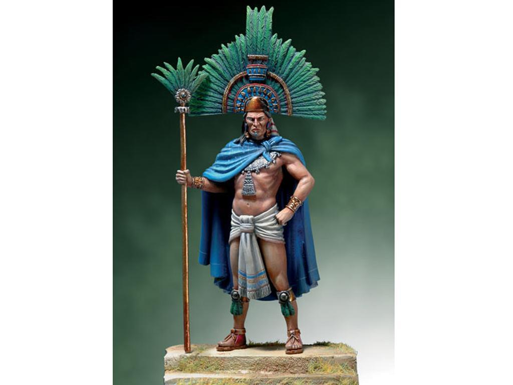 Moctezuma II, 1520. (Vista 1)