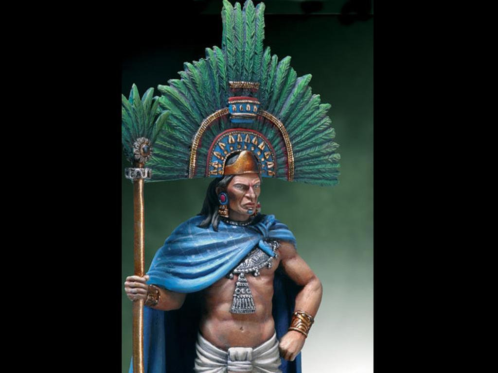 Moctezuma II, 1520. (Vista 4)