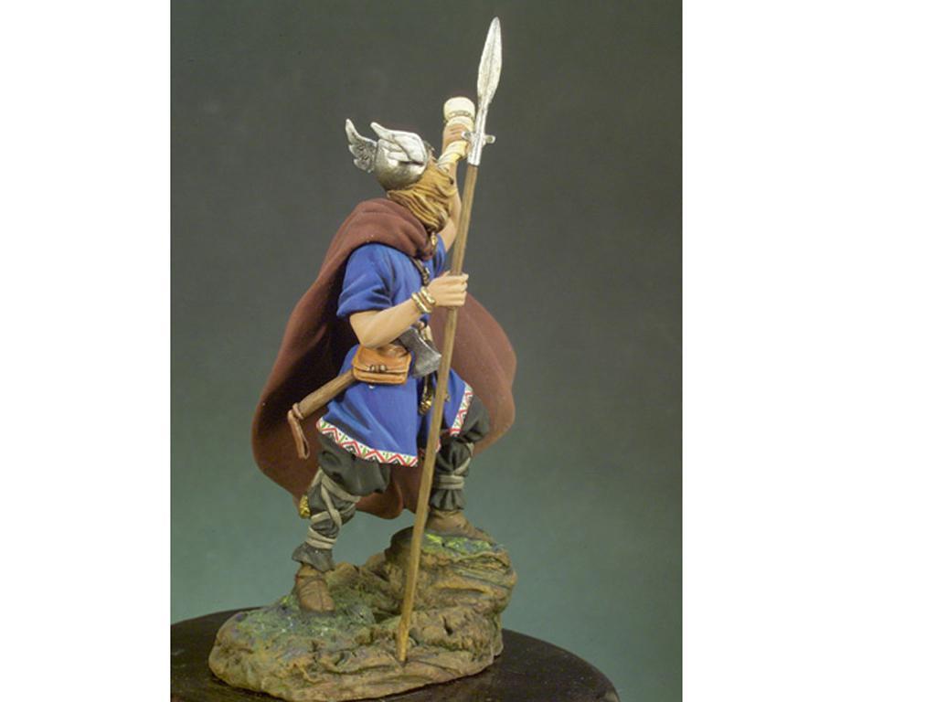 Guerrero Vikingo, año 900 (Vista 2)
