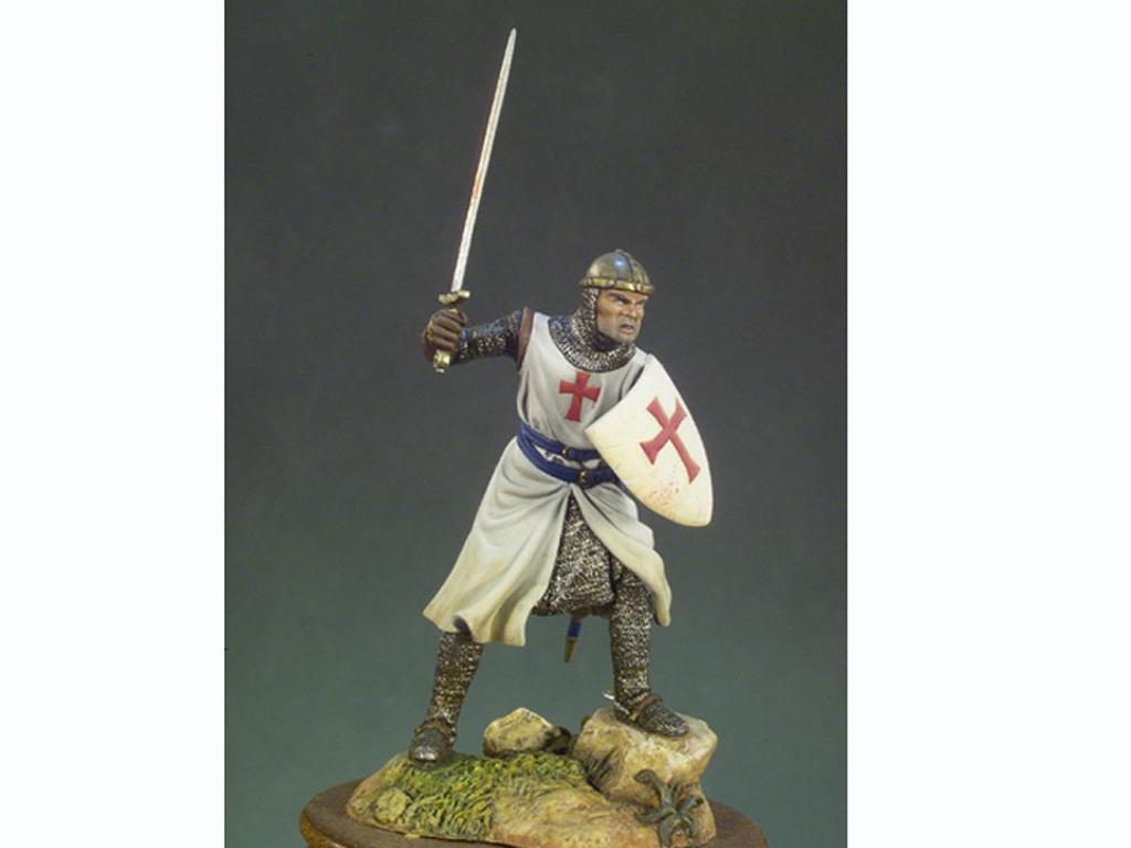 Caballero Templario año 1200 (Vista 1)