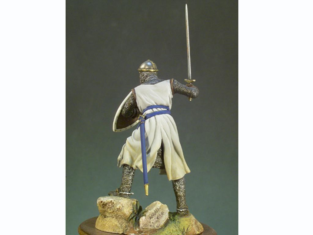 Caballero Templario año 1200 (Vista 2)