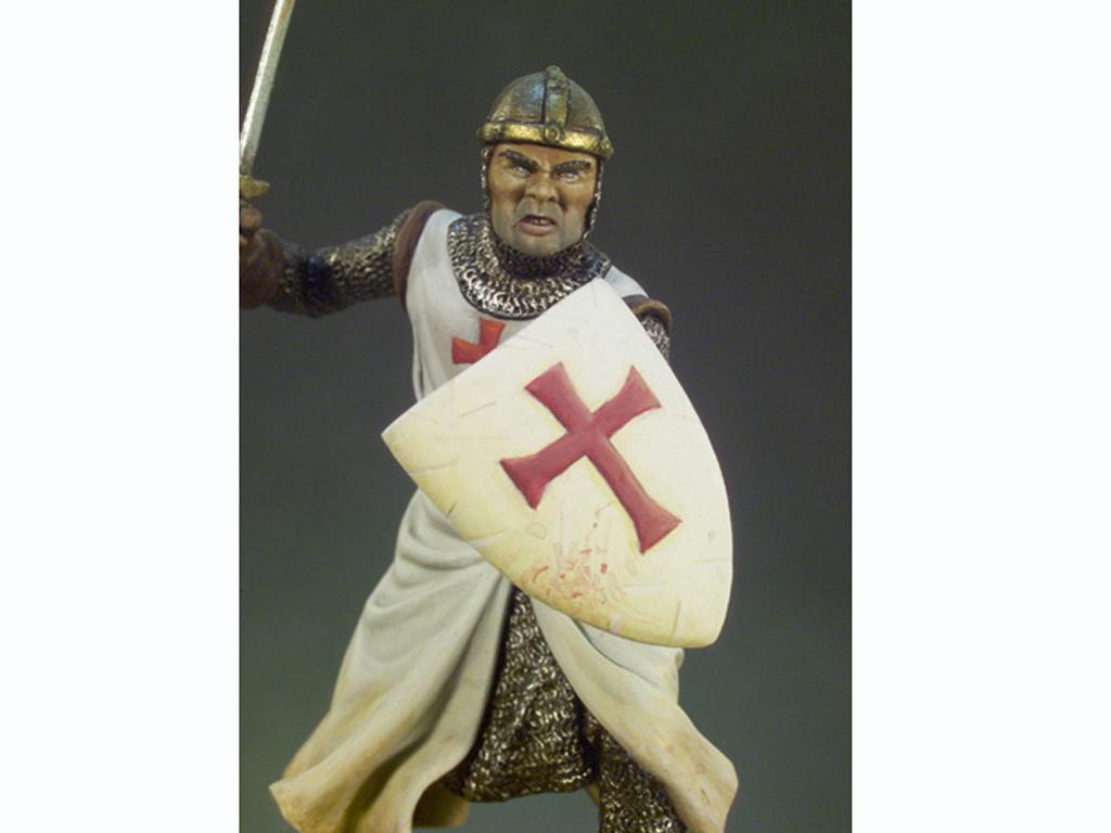 Caballero Templario año 1200 (Vista 3)