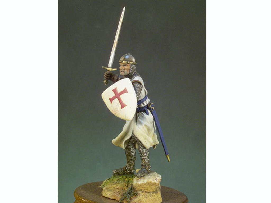 Caballero Templario año 1200 (Vista 4)