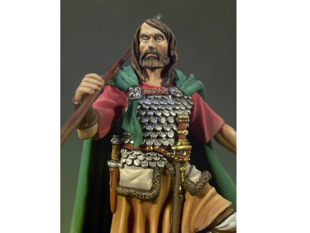 Jefe de clan galés  año 1270 (Vista 2)