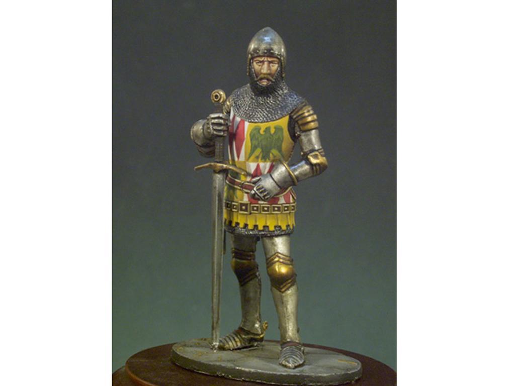 Caballero Inglés año 1400 (Vista 1)