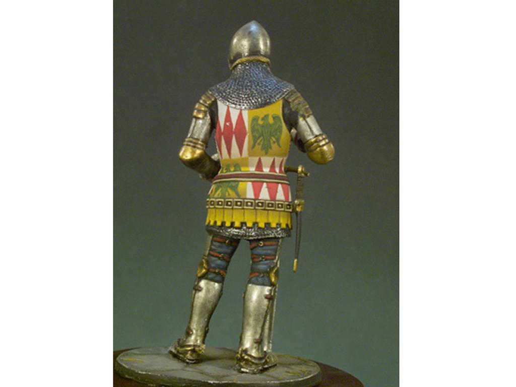 Caballero Inglés año 1400 (Vista 2)
