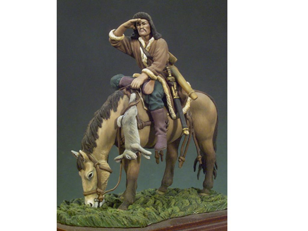 Arquero Huno a Caballo año 450 (Vista 1)