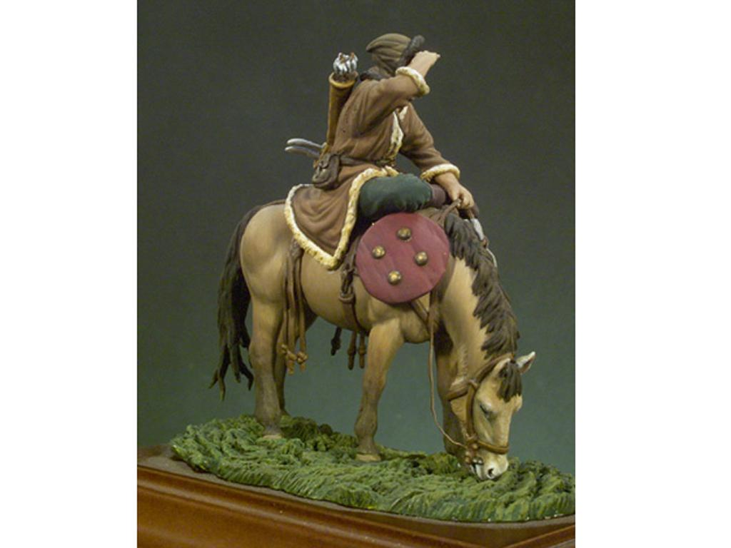 Arquero Huno a Caballo año 450 (Vista 3)