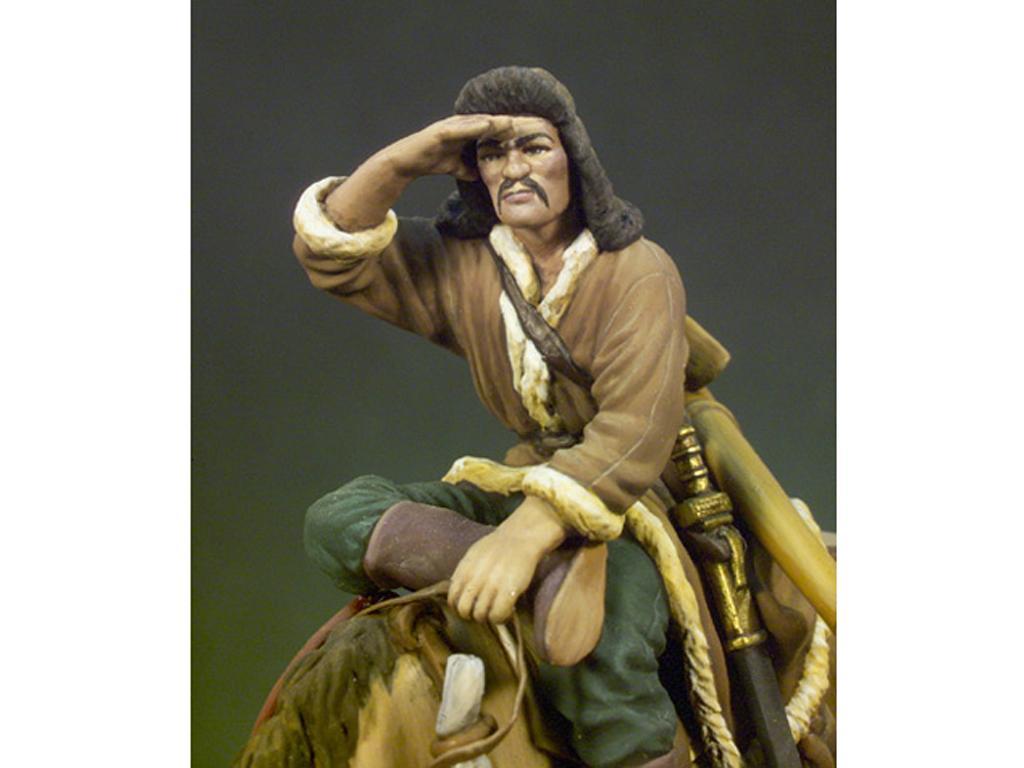 Arquero Huno a Caballo año 450 (Vista 4)