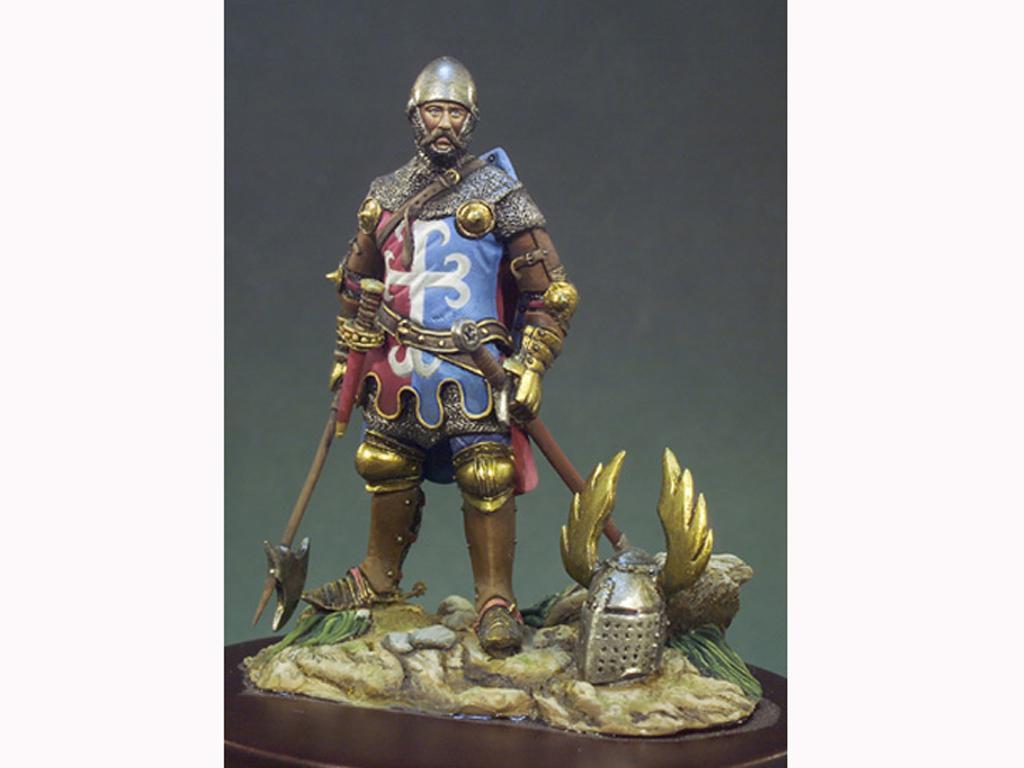 Caballero año 1325 (Vista 1)