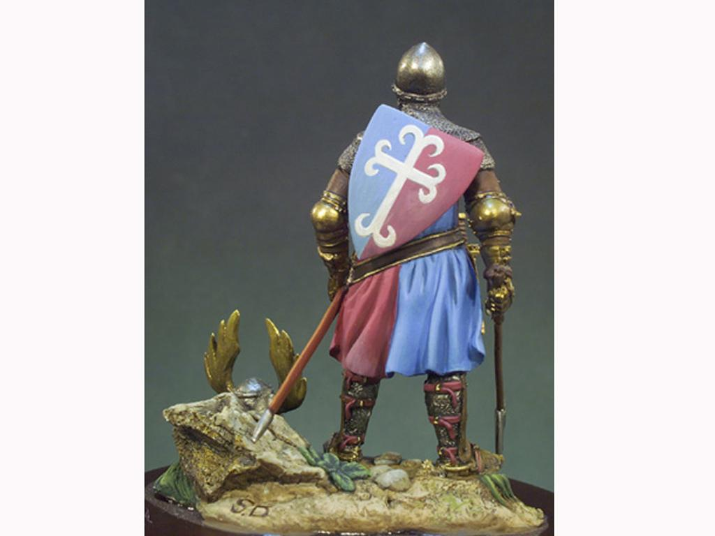 Caballero año 1325 (Vista 3)
