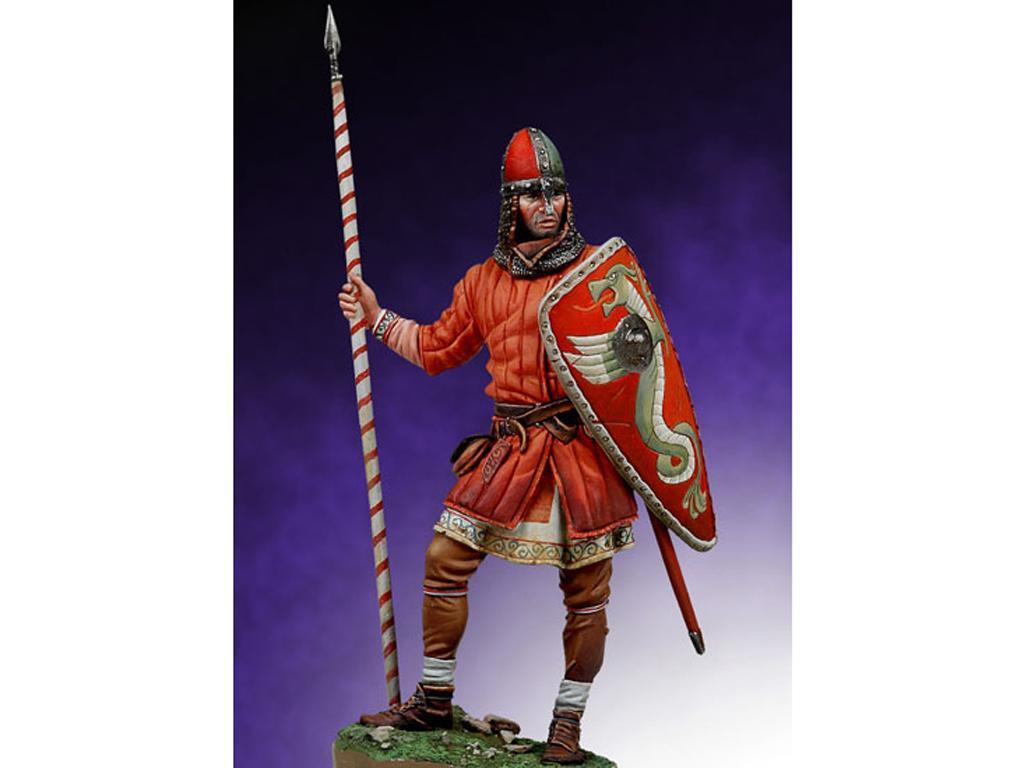 Guerrero Normando, Batalla de Hastings, (Vista 1)