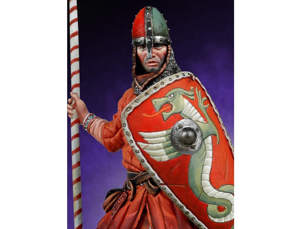 Guerrero Normando, Batalla de Hastings, (Vista 3)