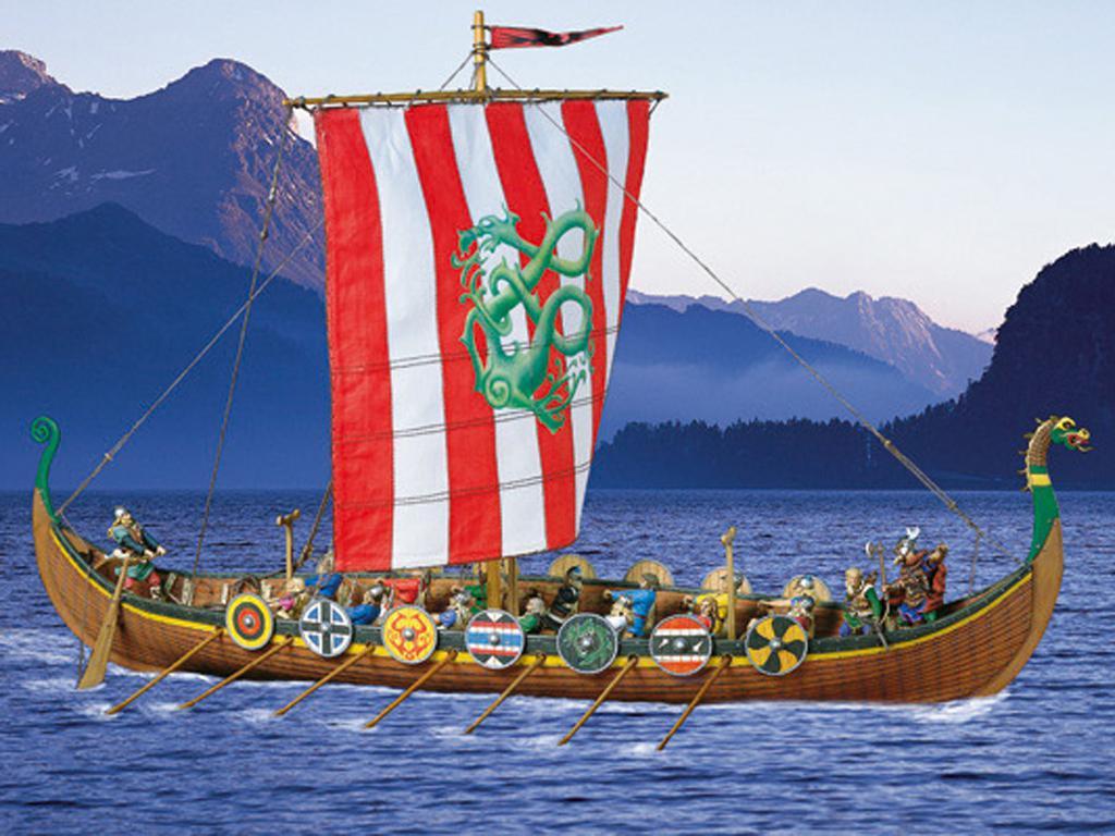 Barco Vikingo (Vista 1)