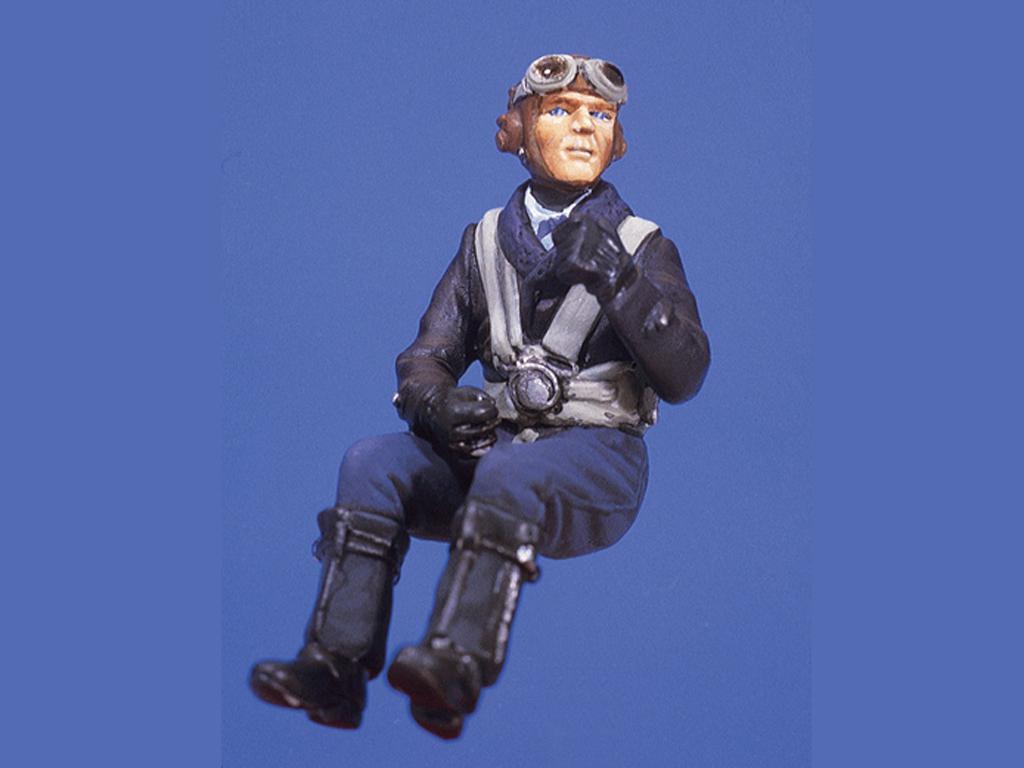 Piloto alemán en cabina (Vista 1)