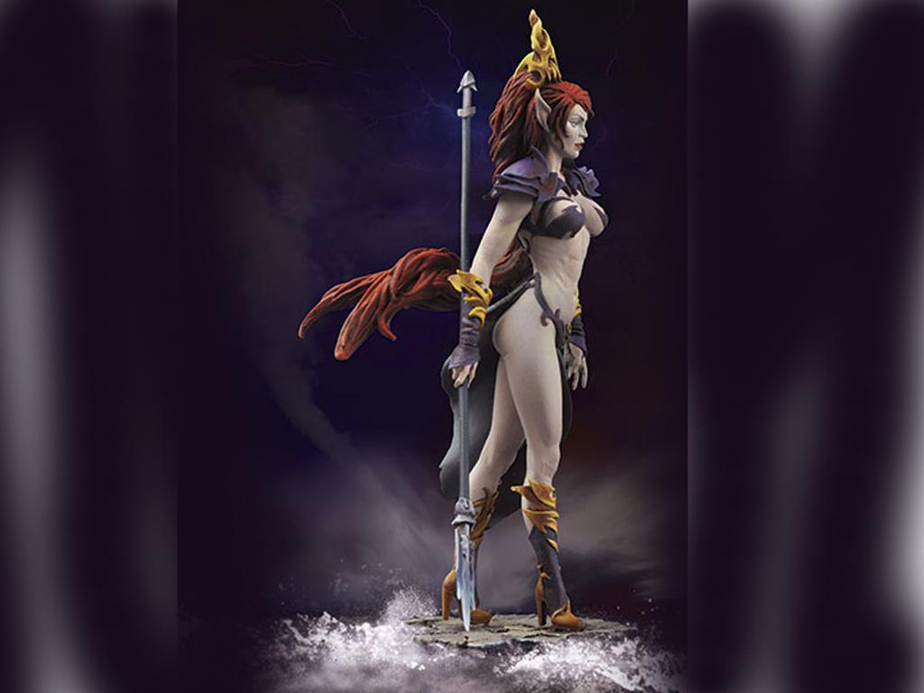 Zwëothel, Reina de la Oscuridad (Vista 2)