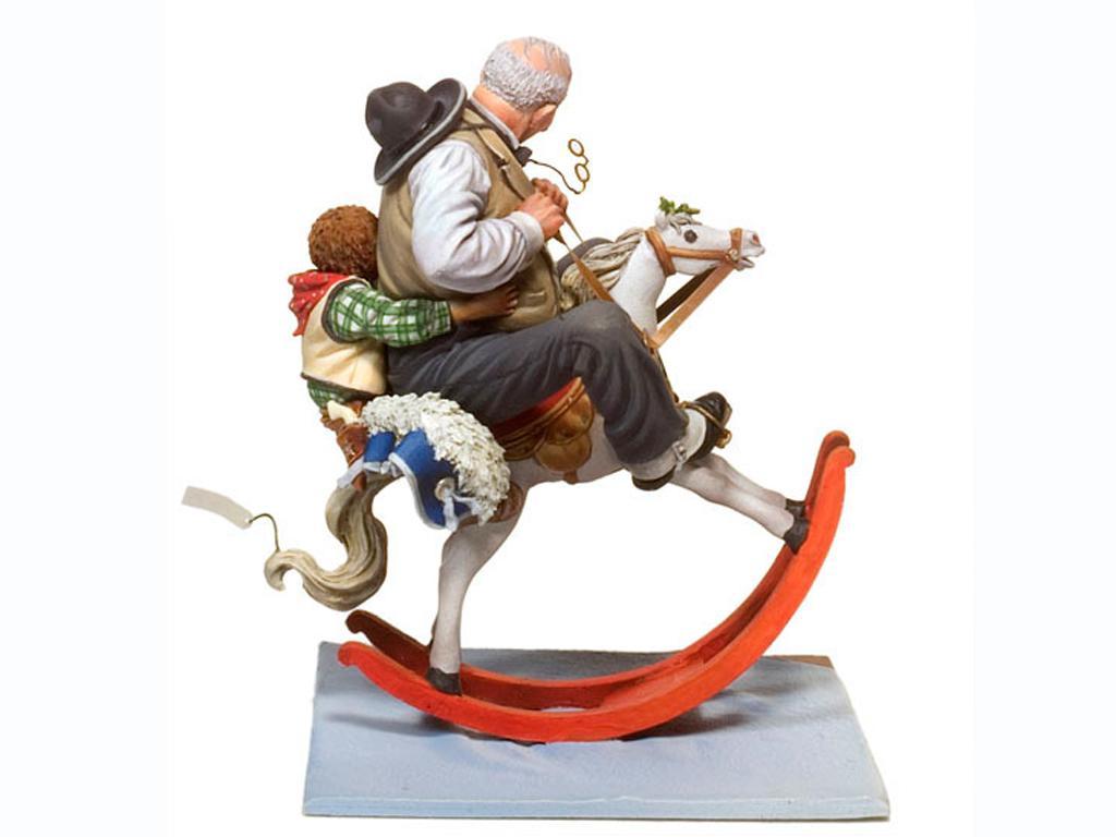 Dos cabalgan juntos (Vista 3)