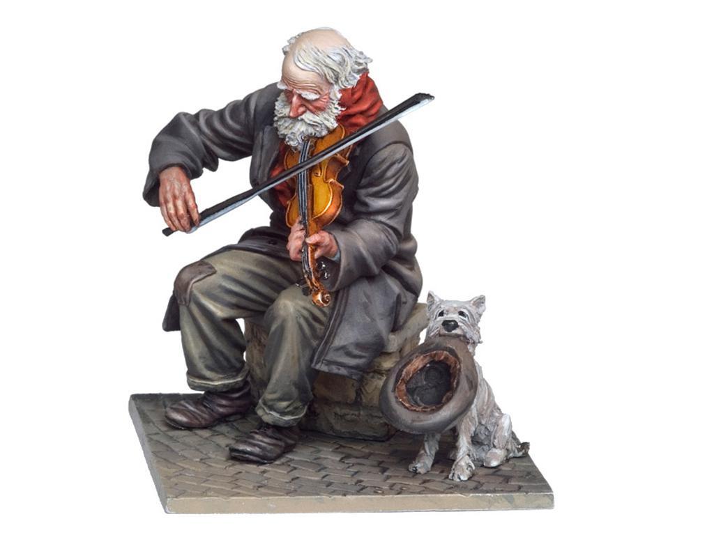 El Viejo Violinista (Vista 1)