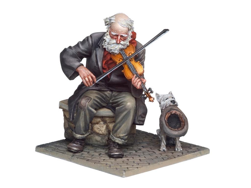El Viejo Violinista (Vista 3)