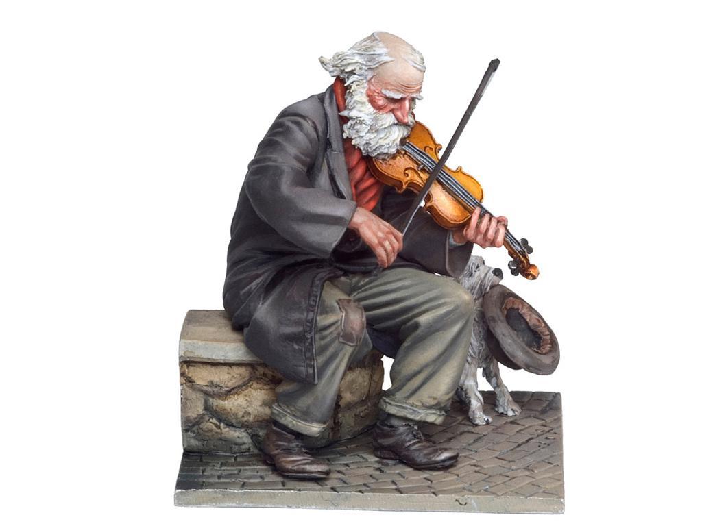 El Viejo Violinista (Vista 4)
