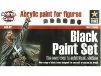 Set de Pintura Negro (Vista 3)