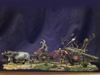 Tren de artillería de Lansquenetes 1525 (Vista 5)