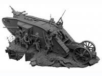 Lucha de tanques en el Frente Occidental, 1916 (Vista 8)
