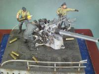 Cañon cubierta U-Boat VIIC y tripulacion (Vista 5)