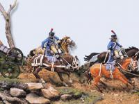 Tren de artillería de línea Napoleónico (Vista 8)