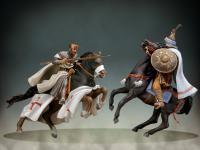 Maestro Templario a caballo, siglo XII (Vista 6)