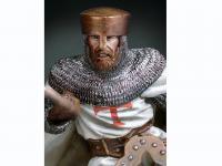 Maestro Templario a caballo, siglo XII (Vista 7)