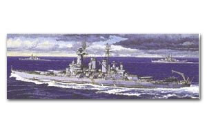 US Navy Battleship Washington  (Vista 1)