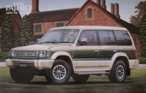 Mitsubishi Pajero Midroof Wide Super   (Vista 1)