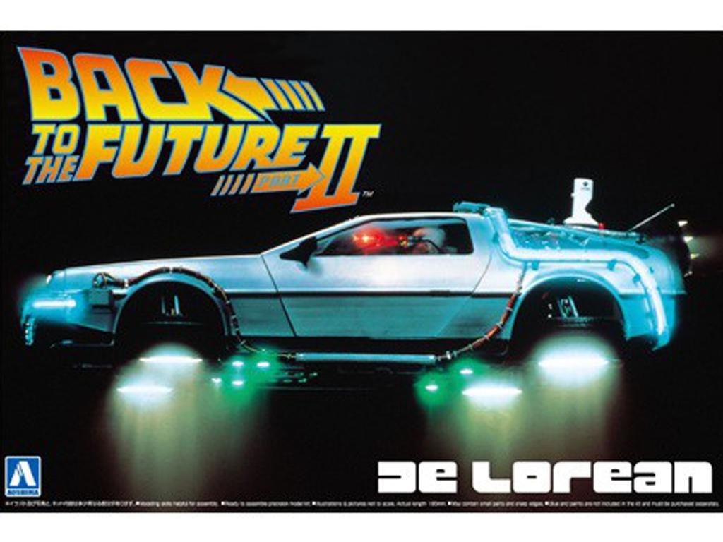 Delorean Back to the Future Part 2 (Vista 1)