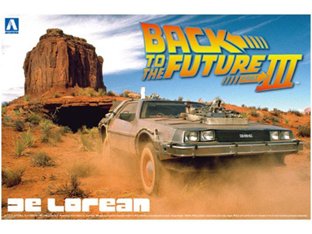 Delorean Back to the Future Part 3 (Vista 1)