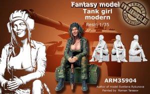 Tank Girl Modern sin caja de munición  (Vista 1)