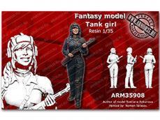 La chica del tanque Soviético - Ref.: AR35-35908