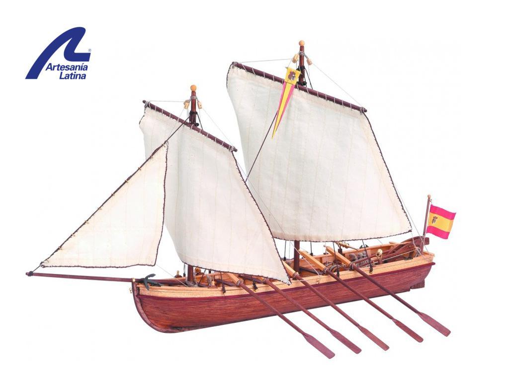Lancha del Capitán Santísima Trinidad (Vista 1)