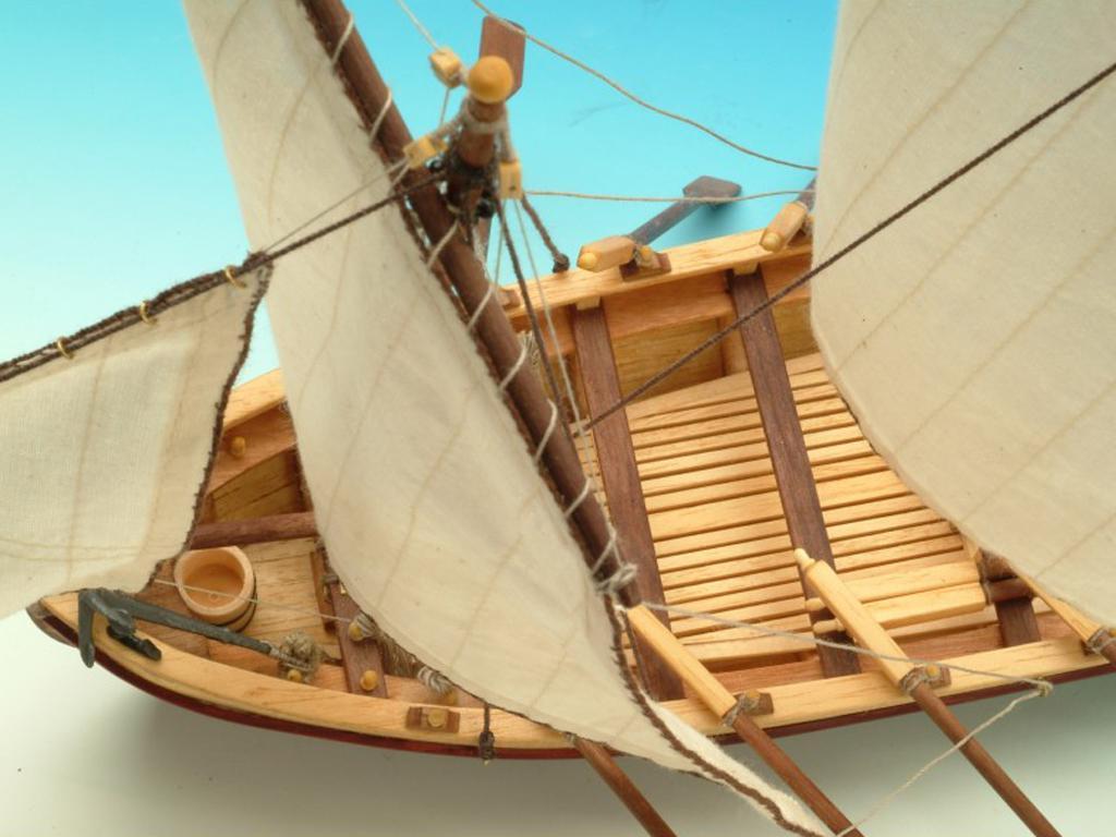 Lancha del Capitán Santísima Trinidad (Vista 2)