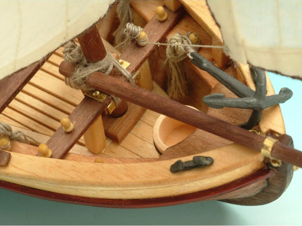 Lancha del Capitán Santísima Trinidad (Vista 3)
