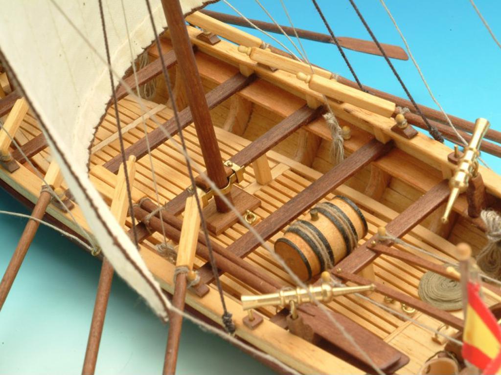 Lancha del Capitán Santísima Trinidad (Vista 6)