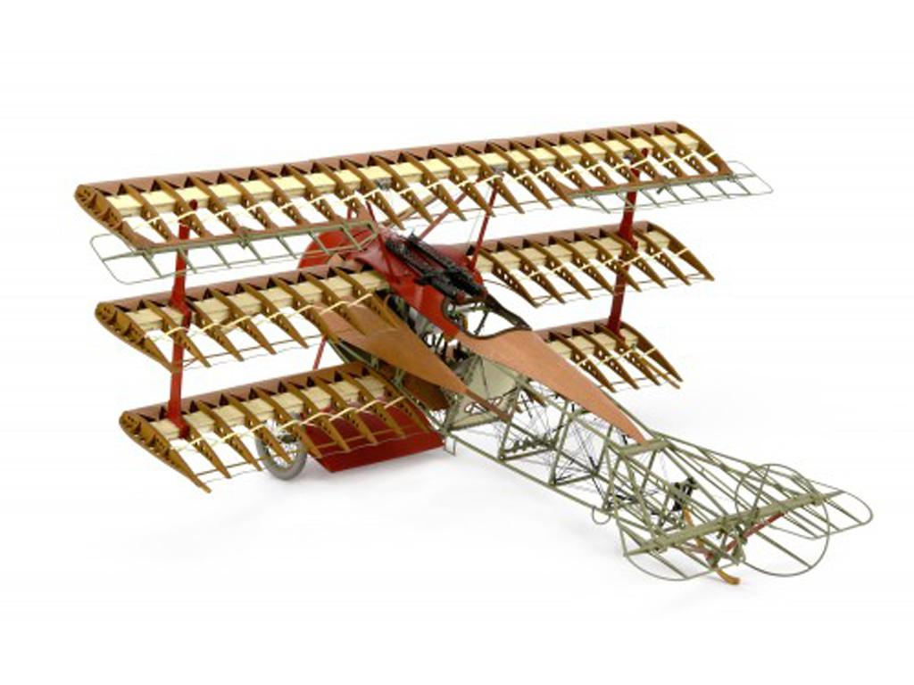 Fokker Dr.I, el Triplano del Barón Rojo (Vista 3)