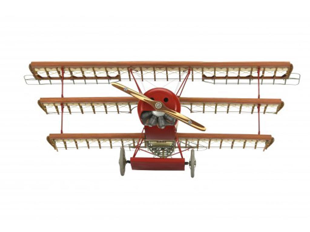 Fokker Dr.I, el Triplano del Barón Rojo (Vista 4)
