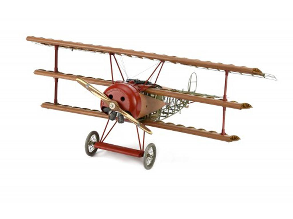 Fokker Dr.I, el Triplano del Barón Rojo (Vista 6)