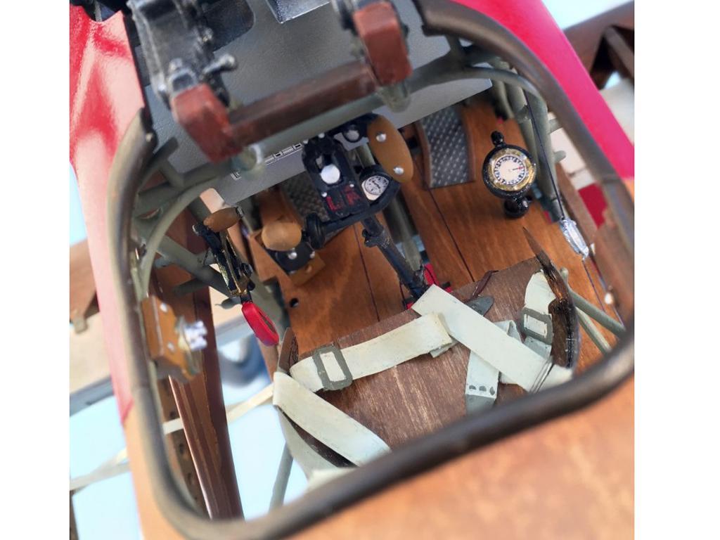Fokker Dr.I, el Triplano del Barón Rojo (Vista 8)